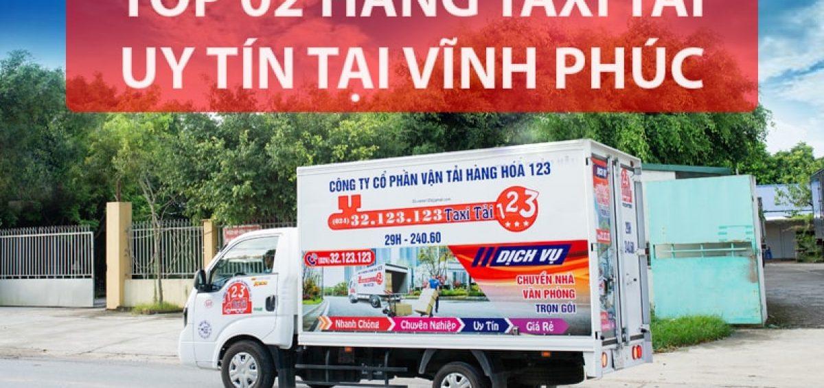 Taxi tải 123 Vĩnh Phúc
